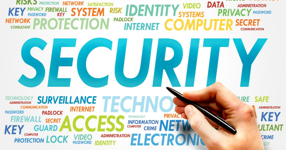 pic of the word security