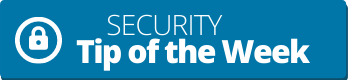 Security tip banner